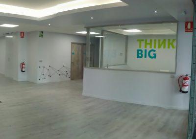 Reforma oficinas Kaleido Coworking