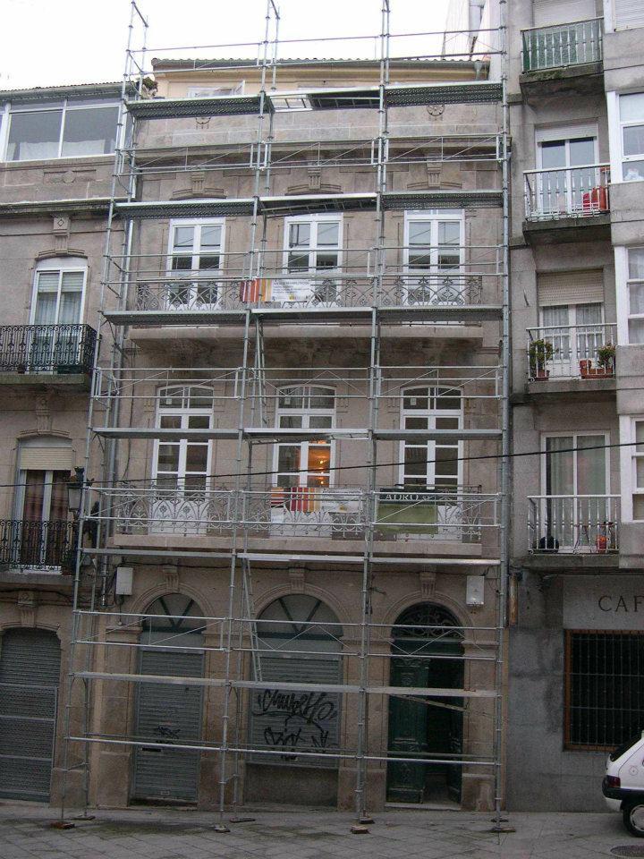 Reabilitación edificio calle Real Vigo
