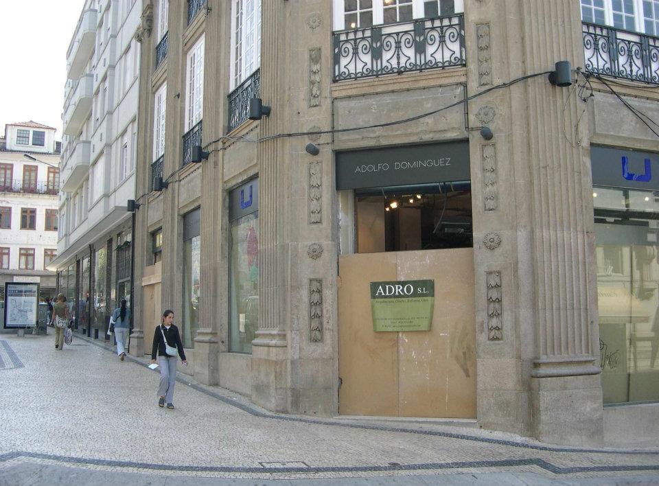 Reabilitación edificio Adolfo Dominguez - Oporto