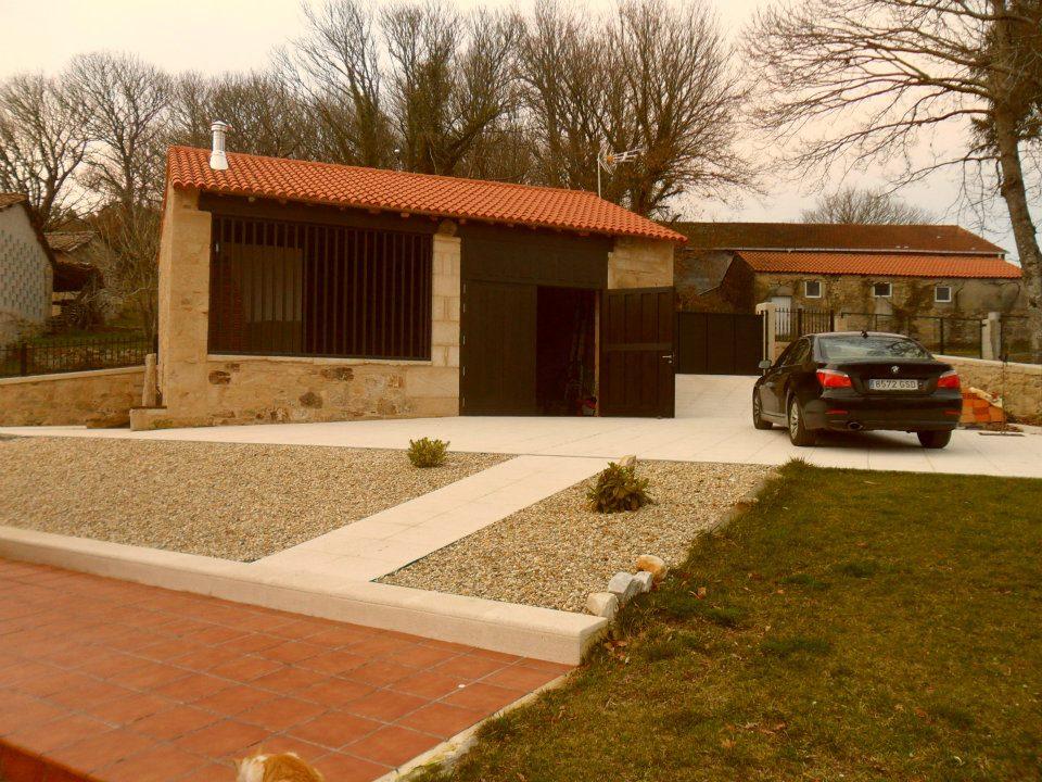 Reforma casa rural lugo adro construcciones - Casas rurales de galicia ...