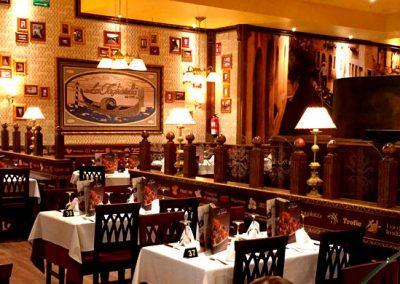 Reforma restaurante La Tagliatella - Marineda City