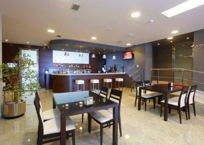 Reforma cafetería hotel México - Vigo