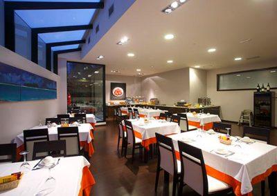 Reforma comedor Hotel México - Vigo