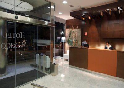Reforma recepción Hotel México - Vigo